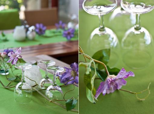 Parkcafe pusteblume - Sommerliche tischdekoration ...